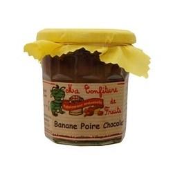 Confiture Banane Poire Chocolat