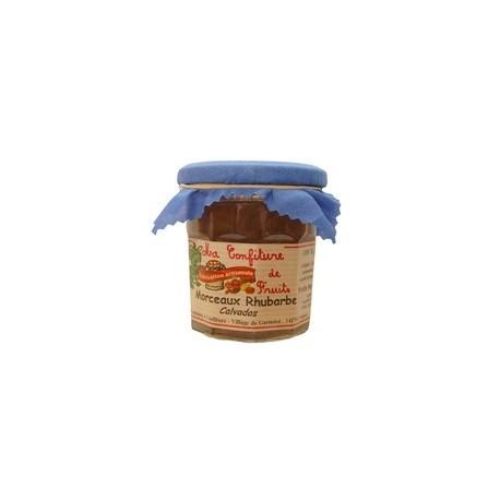Confiture de Rhubarbe et Calvados