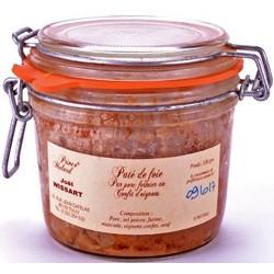 Pâté de Foie Pur porc Fermier au Confit d' Oignons