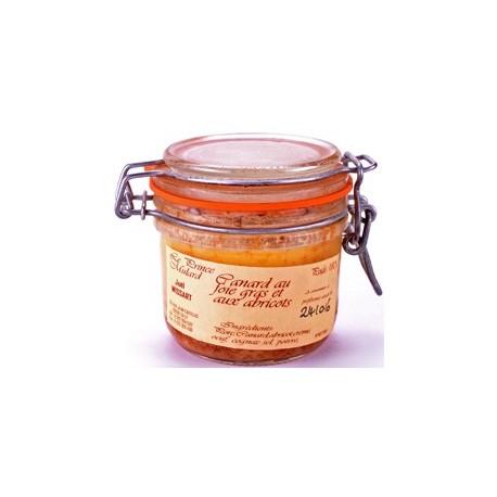 Paté de Canard au Foie Gras et aux Abricots
