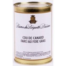 Cou de Canard Farci au Foie Gras 400g