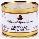Cou de Canard Farci au Foie Gras 200g