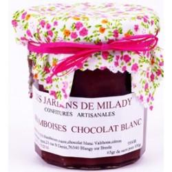 Confiture Framboises Chocolat Blanc