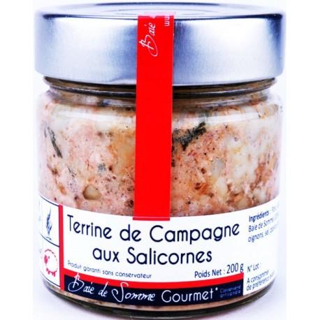 Terrine de Campagne aux Salicornes