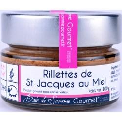 Rillettes de Saint Jacques au Miel