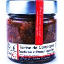 Terrine de Campagne au Boudin Noir et Pommes Caramélisées